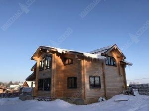 Дом из бруса своими руками 1