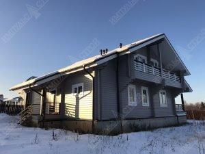 Дом из бруса для проживания 8