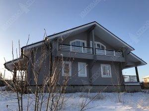 Дом из бруса для проживания 1
