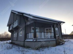 Дом из бруса для проживания 3