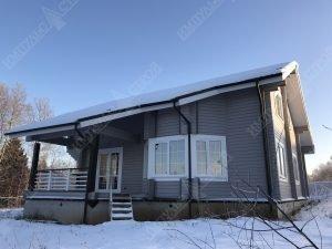 Дом из бруса для проживания 4