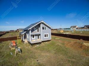 как строят дома из бруса под ключ