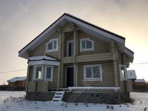 Все о домах из оцилиндрованного бревна фото 2