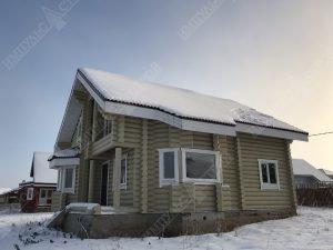 Все о домах из оцилиндрованного бревна фото 3