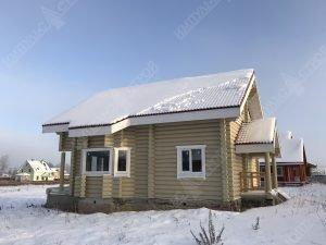 Все о домах из оцилиндрованного бревна фото 4