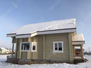 Все о домах из оцилиндрованного бревна фото 5