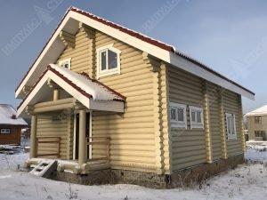 Все о домах из оцилиндрованного бревна фото 6